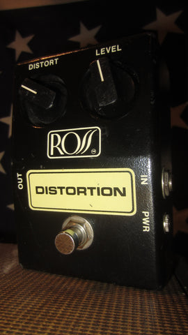 1981 ROSS Distortion Black