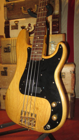 Fender Precision Bass Special Natural circa 1982