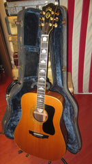 1982 Guild D-70 Dreadnought Acoustic Natural with original case