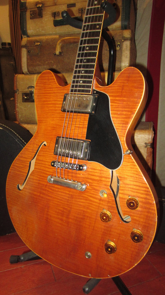 1984 Gibson Custom Shop Edition ES-335 Natural Flame Top