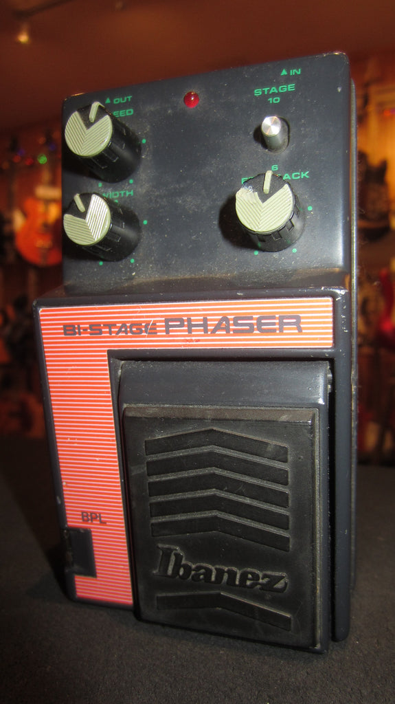 1985 Ibanez BPL Bi-Stage Phaser Black & Orange