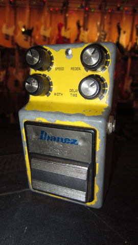 Pre Owned 1985 ibanez FL9 Flanger Yellow