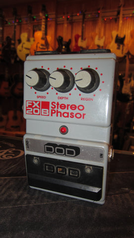Pre Owned 1986 DOD FX20B Stereo Phaser Grey