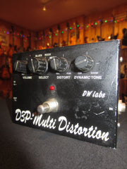 Vintage circa 1986 DW Labs D3P- Multi Distortion Guitar/Bass Pedal Black