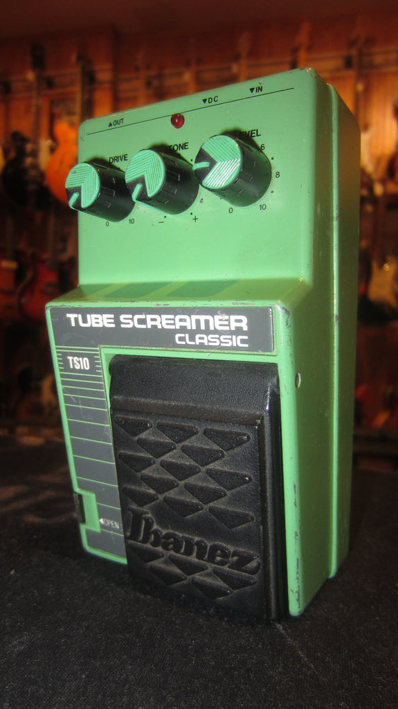 1986 Ibanez TS-10 Tube Screamer Classic Green
