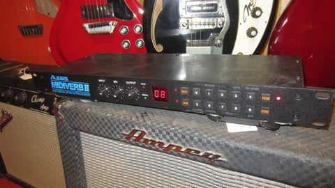Vintage 1980's Alesis Midiverb II 16 Bit Digital Effects Processor