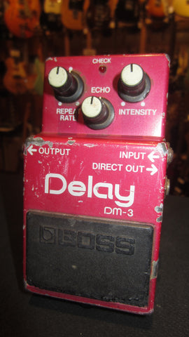 Vintage Circa 1988 Boss DM-3 Analog Delay Pedal