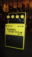 1988 Boss OD-2 Super Overdrive  Black Label