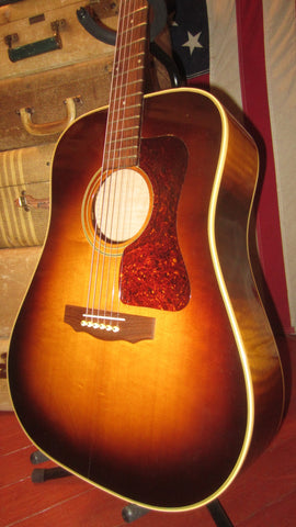 1998 Guild D-30 AB Sunburst Made in Waverly Plant USA