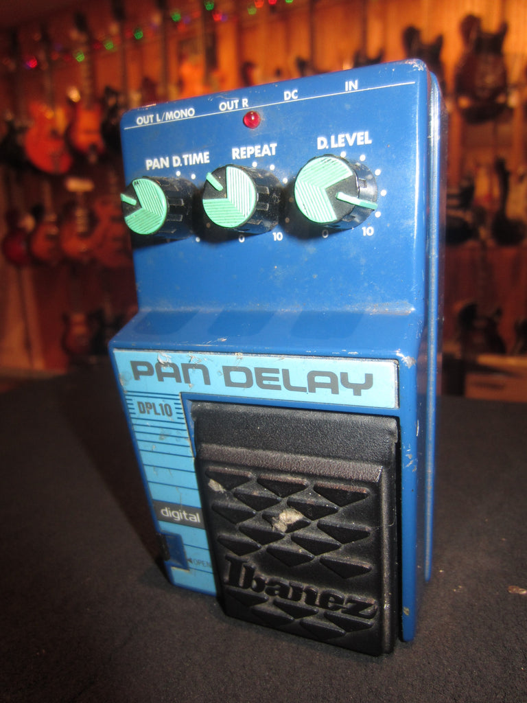Vintage circa 1988 Ibanez DPL10 Pan Delay Pedal Blue Finish