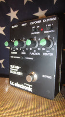 1988 TC Electronics Sustain+ Parametric Equalizer Black
