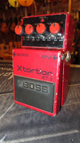 Pre Owned 1989 BOSS XT-2 Xtortion Red