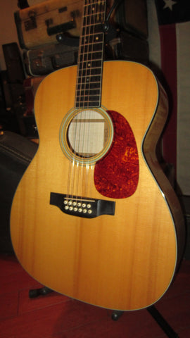 1989 Martin J12-65M 12-String Acoustic Guitar Natural