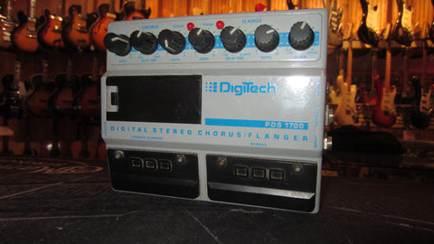 Pre Owned 1990  Digitech PDS1700 Digital Stereo Chorus and Flanger Blue & Grey