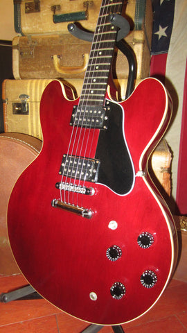 1990 Gibson ES-335 Studio Semi-Hollow Electric Burgundy w/ Original Case