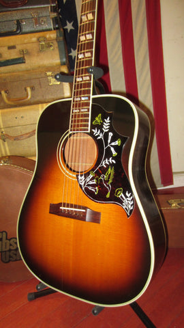 1990 Gibson Hummingbird Sunburst Stunning Look and Tone w/ K & K Pickup Installed