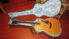 1991 Taylor Model 612-C Acoustic Guitar Natural w/ Original Case