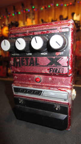 Pre-Owned 90's DOD FX70X Metal X High Gain Distortion Purple