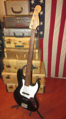 1993 Fender Jazz Bass Fretless Black Made in Japan
