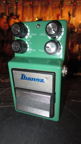 Vintage 1990's Ibanez TS-9 DX Tube Screamer Made in Japan