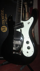 1993 Mosrite The Ventures Model Black Clean with Original Case