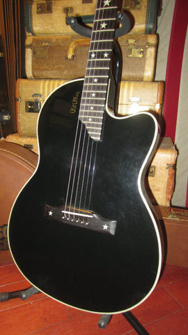 1994 Gibson  Chet Atkins SST Solidbody Electric Black Clean and All Original