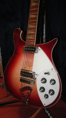 Pre-Owned 1995 Rickenbacker Model 620 Fireglo w/ Original Hardshell Case & Polish Cloth