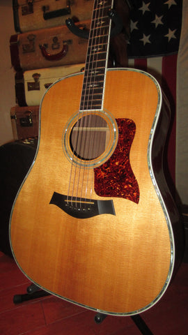 Original and rare pre-owned 1997 Taylor model 810 Ltd deluxe flattop acoustic