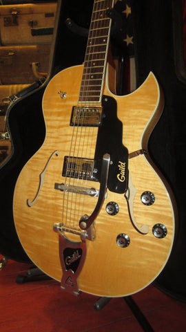 Pre-Owned 1998 Guild Starfire III Semi-Hollow Body Electric Blonde w/ Original Case