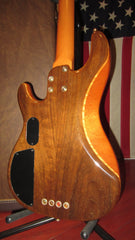 2001 Fender Zone Bass American Deluxe Natural Exotic Tone Woods