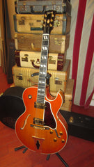 2001 Gibson Custom Shop Historic Series L-4 Tangerine Sunburst