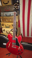 Pre-Owned 2001 Gibson ES-335 Dot Cherry Red w/ Hard Case