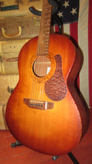Pre-Owned 2002 K. Yairi Model R-2AN Small Body Acoustic Guitar w/ Gig Bag