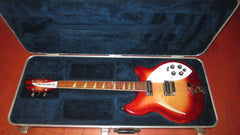 2002 Rickenbacker Model 360 Fireglo Nice and Clean and All Original with Original Case