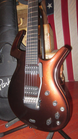 Circa 2003 Parker Fly Classic w/ Original Gig Bag & Tools