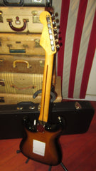 2004 Fender '57 Re-issue Stratocaster Crafted in Japan Sunburst w/ Hard Case