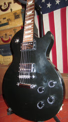 Original 2004 Gibson Les Paul Studio Black Electric Guitars