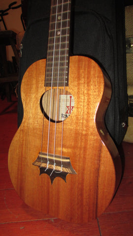 Pre Owned Circa 2005 KoAloha Crown Bridge Tenor Ukulele