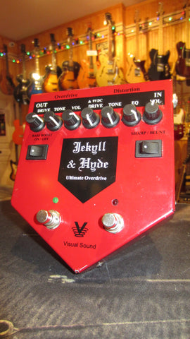 ~2005 Visual Sound Jekyll & Hyde Ultimate Overdrive V1 Red