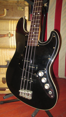 2006 Fender AJB-DX Aerodyne Jazz Bass Deluxe  Black w/ Gig Bag