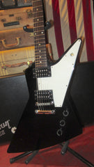 Pre-Owned 2006 Gibson Explorer Black w/ Original Case & Paperwork