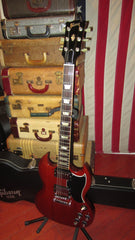 Pre-Owned 2008 Gibson SG Standard '61 Re-Issue Cherry Red