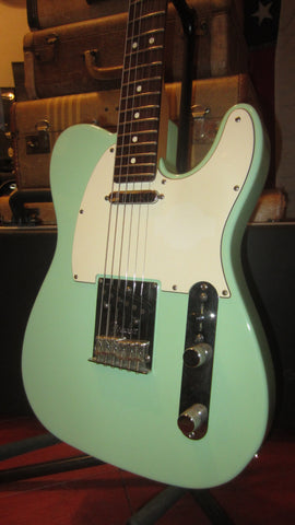2009 Fender Special Edition Telecaster with Matching Headstock Surf Green