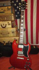2009 Gibson Custom Shop '61 Les Paul SG Standard VOS Reissue Cherry Red w/ Original Case & Paperwork