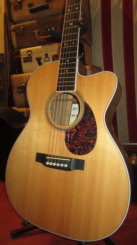 Martin OMC-160GTE Natural with Original Hard Case