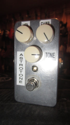 2010 Analogman Astrotone Fuzz Pedal Copy Grey
