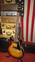 Pre-Owned 2010 Gibson Custom Shop ES-339 Semi-Hollow Electric Sunburst Finish w/  Original Hardshell Case