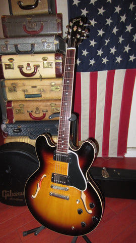 2010 Gibson ES-335 Semi-Hollow Electric Sunburst w/ Original Case
