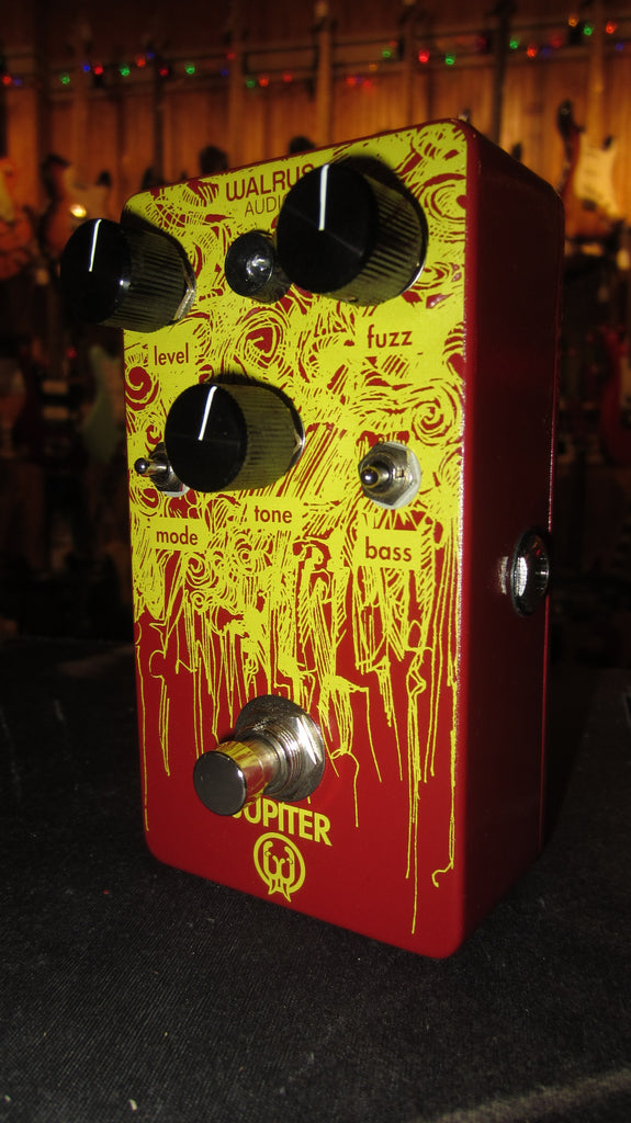 2010 Walrus Audio Jupiter Fuzz Pedal Red