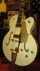 2012 Gretsch  Model G6136-LDS White Falcon  White